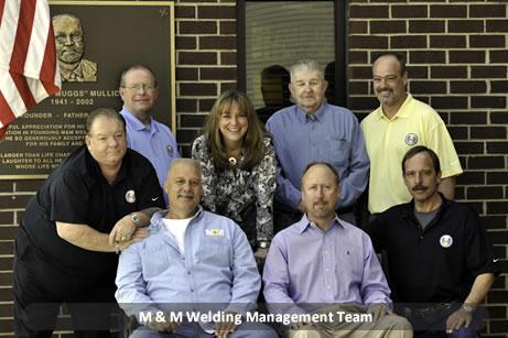 M&M Welding Management Team